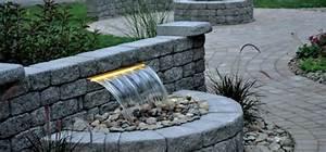 Steinmauer Mit Wasserfall : wasserfall im garten selber bauen 99 ideen wie sie die harmonie der natur genie en ~ Markanthonyermac.com Haus und Dekorationen