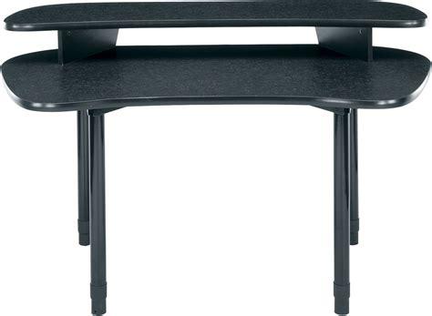 middle atlantic desk middle atlantic mdv dl 59 quot w desk with overbridge