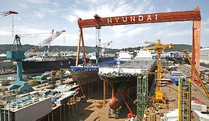 hyundai heavy industries ulsan shipyard ship technology