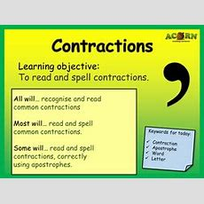 English  Contractions  Activities & Games By Acornteachingresources  Teaching Resources
