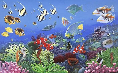 sea wall mural kiddies