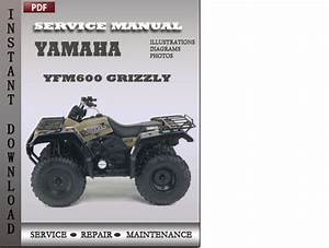 Yamaha Yfm600 Grizzly Factory Service Repair Manual