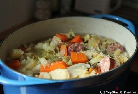 recette de soupe paysanne à la saucisse de morteau