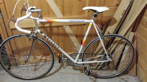 Peugeot Racing Bike by Peugeot Triathlon Vintage Road Bike Racer Racing Bicycle