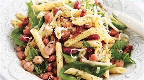 salade de legumineuses  de pates  la toscane