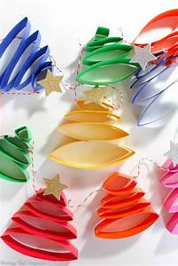 How, To, Make, The, Cutest, Paper, Christmas, Tree, Garland