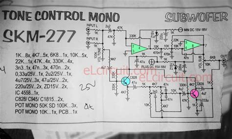 Tone Control With Subwoofer Pre Amplifier Diy