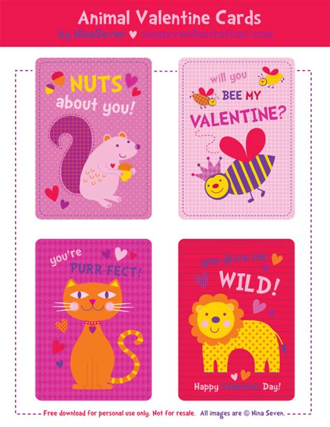 We Love To Illustrate Free Printable Valentine's Day