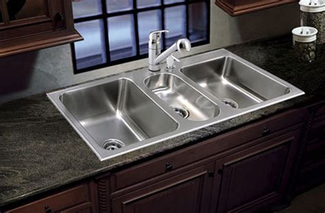 three bowl kitchen sink bowl sink stainless steel made in usa just sinks 6105