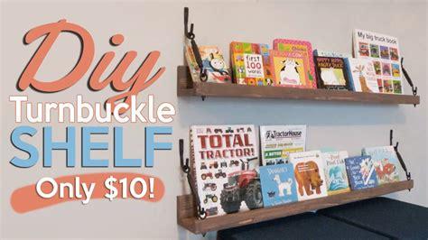 diy turnbuckle shelf shantychic youtube love