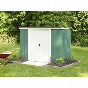 Abri De Jardin Monopente : abri de jardin en m tal monopente 2 3 m achat vente ~ Dailycaller-alerts.com Idées de Décoration