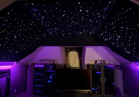 star ceiling panels interactive night sky design home