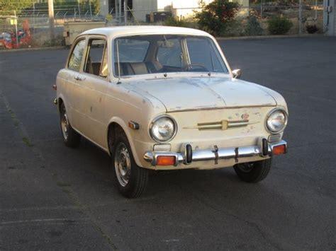 Fiat 850 Sedan by 1971 Fiat 850 Berlina Sedan For Sale Photos Technical