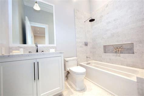 Shower Niche Ideas - Cottage - bathroom - Marsh and Clark