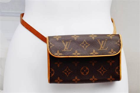 louis vuitton florentine pm monogram leatherauthentic
