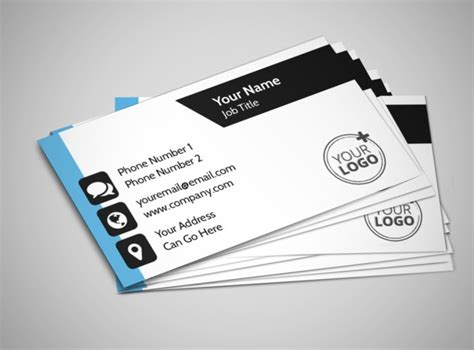 Business Card Template Email Your Personal Fitness