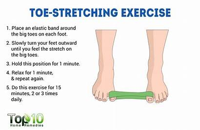 Bunions Toe Stretching Treat Exercises Toes Exercise