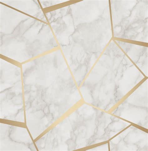 sliding door track decor marblesque white gold wallpaper fd42265