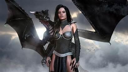 Gothic Dragon Fantasy Wallpapers Warrior Armor 1080p