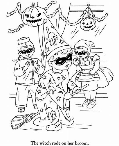 Halloween Coloring Pages Party Sheets Printable Activity
