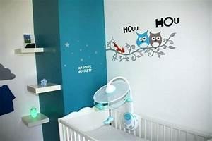 Deco Chambre Bebe Bleu : deco chambre bebe bleu canard famille et b b ~ Teatrodelosmanantiales.com Idées de Décoration