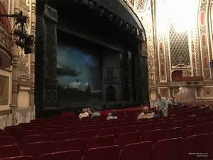 Seating Chart Cadillac Palace Theatre Chicago Cadillac Palace Theatre Orchestra Left Rateyourseats Com