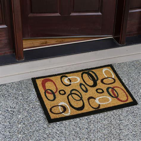 Outdoor Welcome Door Mats by Large Welcome Door Entrance Mat Indoor Outdoor Non Slip