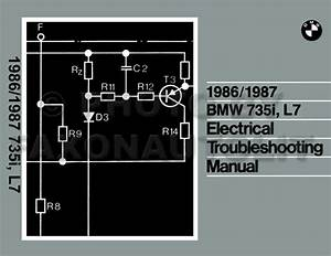 1986 Bmw 735i Electrical Troubleshooting Manual
