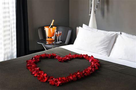 chambre d h el romantique décoration chambre pour valentin