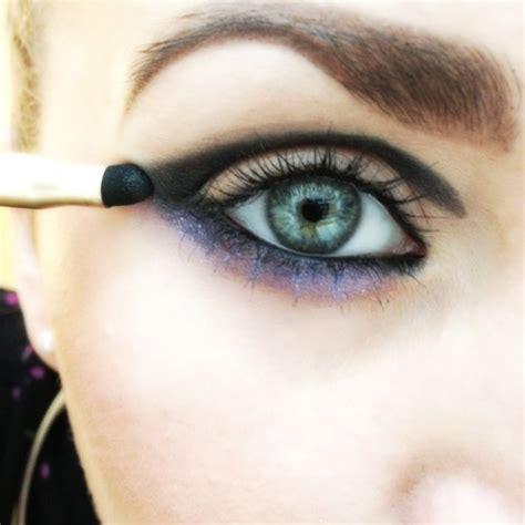 purple haze eye tutorial ready   years eve