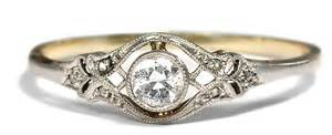 verlobungsring platin antiker verlobungsring diamant ring jugendstil um 1910 solitär gold platin ebay