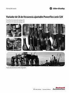 Manual De Usuario Powerflex 525 Espanol