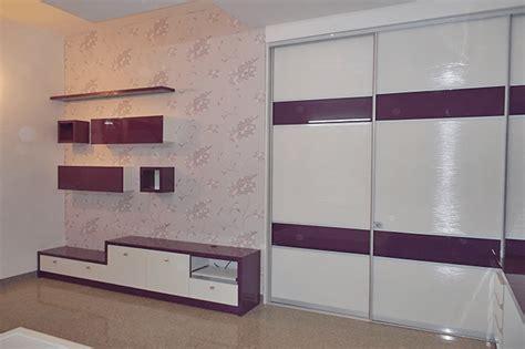 white purple wardrobe design magnon india