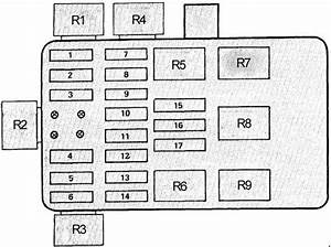 Bmw 7 E23  1977 - 1987  - Fuse Box Diagram