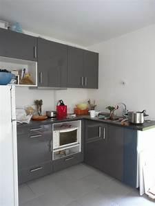 Ikea Facade Cuisine : cuisines ikea veddinge grise et ringhult grise 10 messages ~ Preciouscoupons.com Idées de Décoration