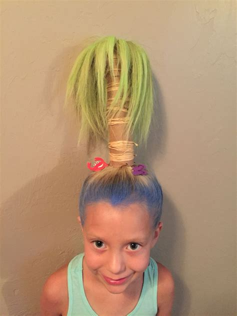 crazy hair day palm tree crazy hair day crazy