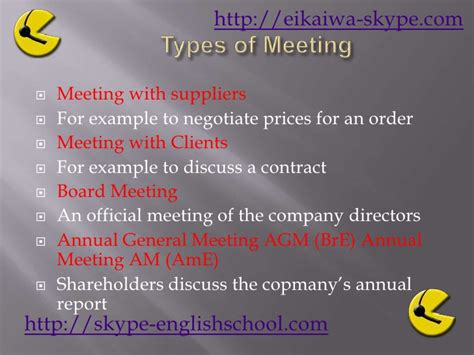 Business English Meetings 1