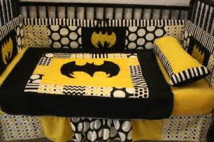 5 pc black chevron dot batman crib bedding free