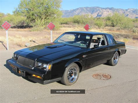 1987 Buick Regal Turbo by 1987 Buick Regal Grand National 3 8l Turbo V6 Only 46k Paint