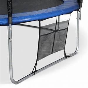 Filet De Protection Jardin : trampoline de jardin neptune xxl 460cm bleu et filet de protection chelle b che filet ~ Dallasstarsshop.com Idées de Décoration