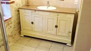 revgercom meuble de salle de bain style ancien idee With meuble salle de bain double vasque style ancien