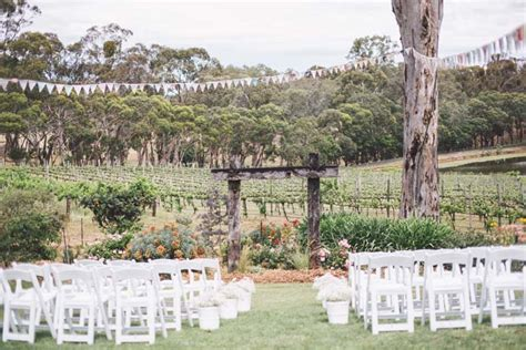 wedding ceremony and reception venues adelaide william and s outdoor wedding in the adelaide