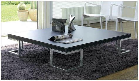 Grande Table Basse Carrée  Idées De Décoration à La Maison