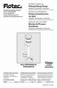 Flotec Sump Pump Wiring Diagram