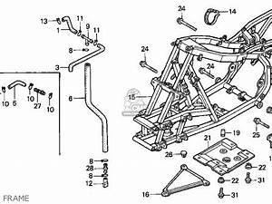 honda trx300ex fourtrax 300ex 1994 r usa parts lists and With diagram of honda atv parts 1994 trx300 an battery diagram