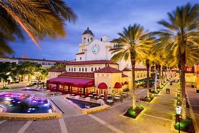Palm Beach West Florida Shopping Place Fine