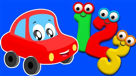 numbers song ten  numbers  red car youtube