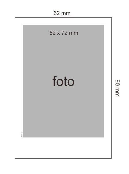 Ukuran Polaroid Frame