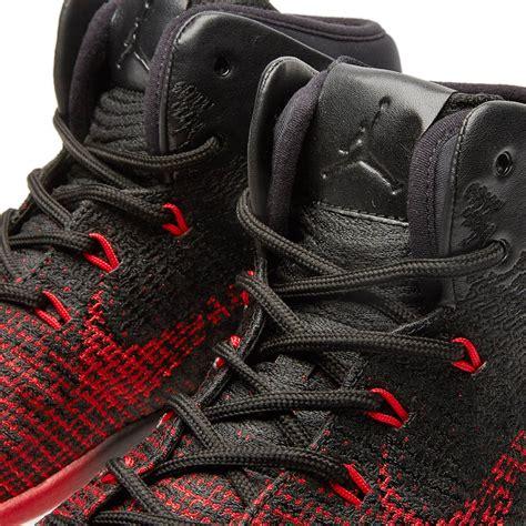 Nike Air Jordan Xxxi Black University Red And White End