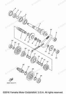 Yamaha Atv 2004 Oem Parts Diagram For Transmission
